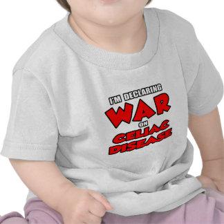 I'm Declaring War on Celiac Disease Shirts