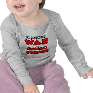 I'm Declaring War on Celiac Disease Tshirts
