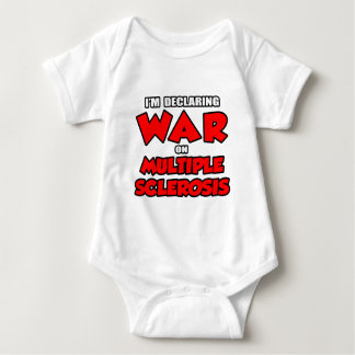I'm Declaring War on Multiple Sclerosis Baby Bodysuit