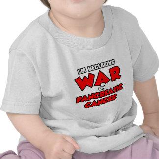 I'm Declaring War on Pancreatic Cancer T Shirt