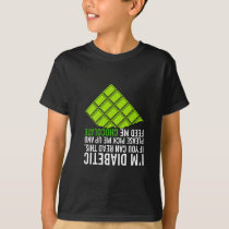 I'm Diabetic Feed Me Chocolate T-Shirt