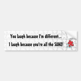 I'm Different Bumper Stickers