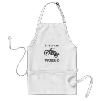 Im different motorcycle adult apron