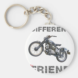 Im different motorcycle keychain