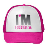 I'm Different Trucker Hats