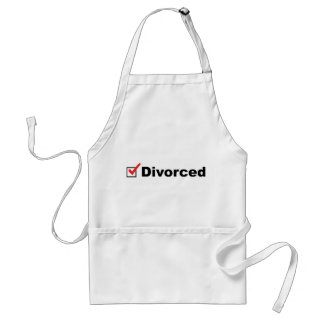 I'm Divorced And Available Adult Apron