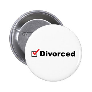 I'm Divorced And Available Pinback Button
