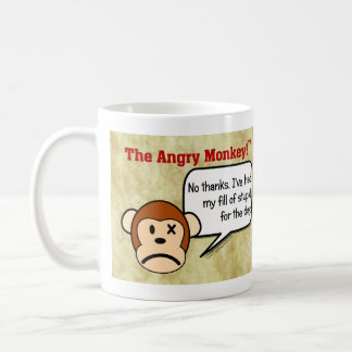 I'm done dealing with stupid people for the day classic white coffee mug