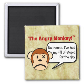 I'm done dealing with stupid people for the day magnet