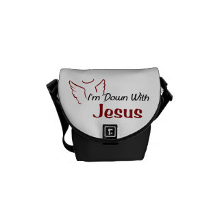 I'm Down With Jesus Commuter Bags