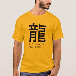 I'm Dragon Chinese Zodiac sign Tee