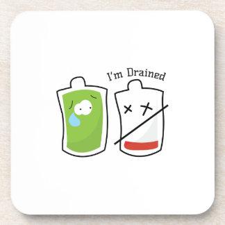 Im Drained Beverage Coasters