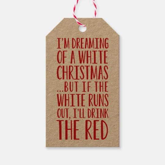 im dreaming of a white christmas gift tags - I M Dreaming Of A White Christmas