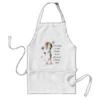 I'm dreaming of a White Christmas, Humorous Gifts Adult Apron