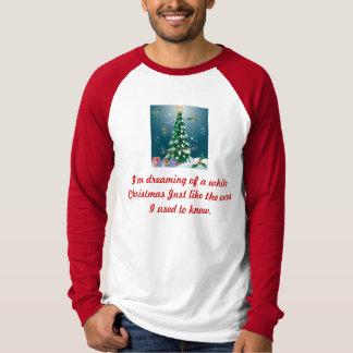 I'm dreaming of a white Christmas Men Tshirt