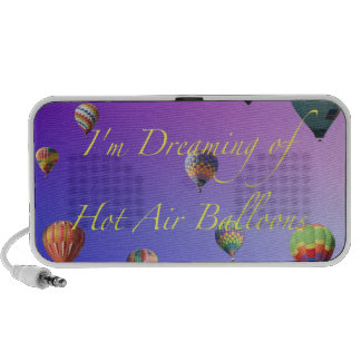 I'm Dreaming of Hot Air Balloons Speaker
