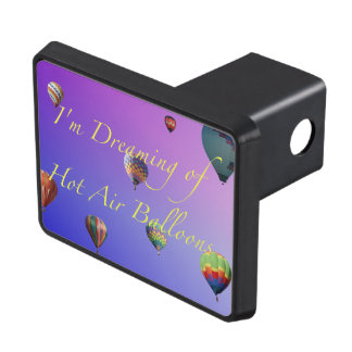 I'm Dreaming of Hot Air Balloons Trailer Hitch Hitch Covers