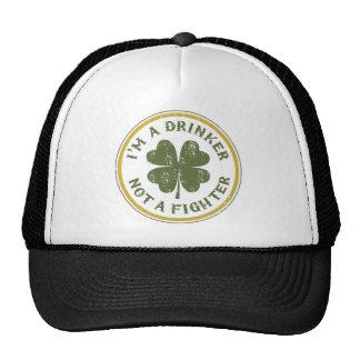 IM DRINKER NOT A FIGHTER TRUCKER HAT