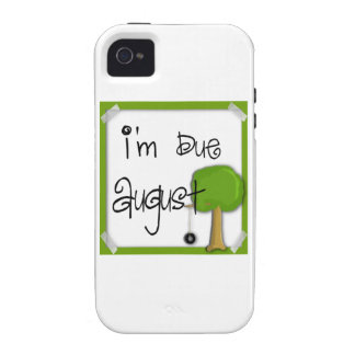 I'm Due August - Tire Swing iPhone 4 Cases