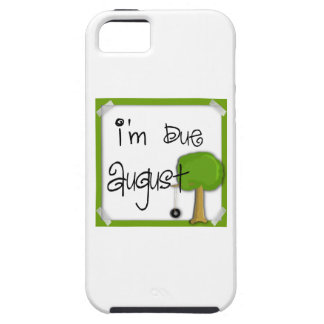 I'm Due August - Tire Swing iPhone 5 Case