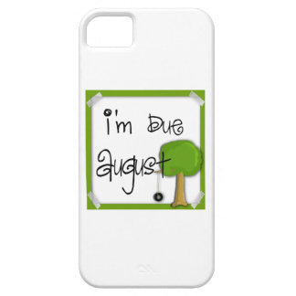 I'm Due August - Tire Swing iPhone 5 Cases