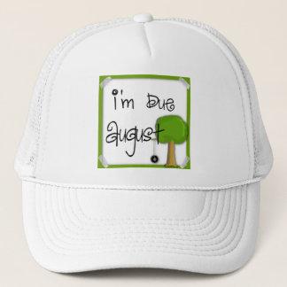 I'm Due August - Tire Swing Trucker Hat