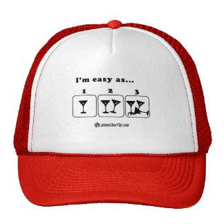 I'm easy as... 1 2 3 trucker hat