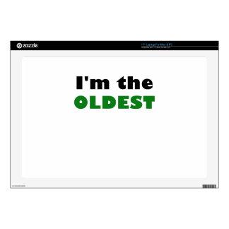 Im el más viejo 43,2cm portátil calcomanía
