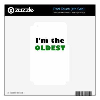 Im el más viejo iPod touch 4G skin