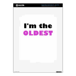 Im el más viejo pegatina skin para iPad 3
