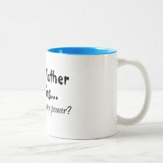 Im el padre de gemelos cuál es su superpoder taza de café