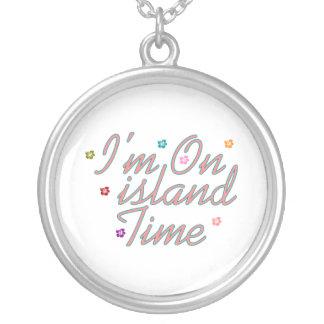 Im el tiempo de la isla colgante redondo