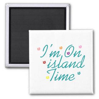 Im el tiempo de la isla imán cuadrado