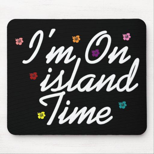 Im el tiempo de la isla tapetes de ratones