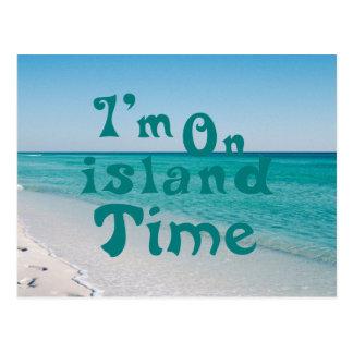 Im el tiempo de la isla postal