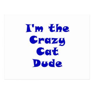 Im el tipo loco del gato postales