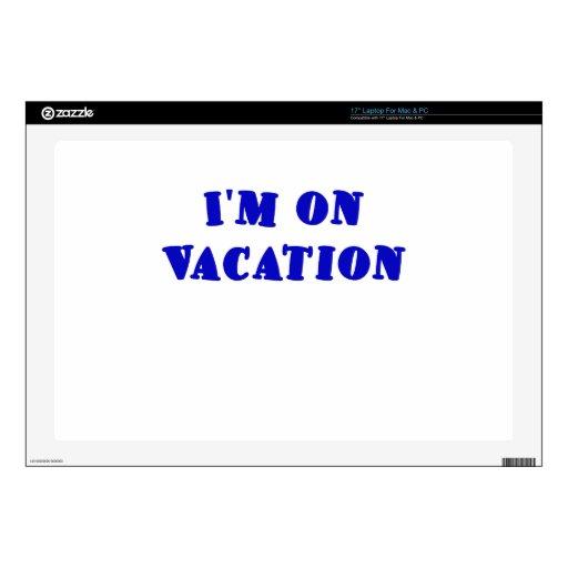 Im el vacaciones portátil skins