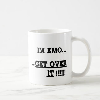 Im Emo... GET OVER IT Coffee Mugs