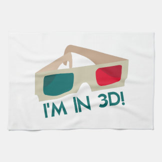 ¡Im en 3D! Toallas De Cocina