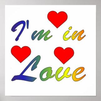 I'm en love poster