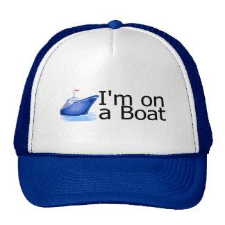 Im en un barco gorro de camionero