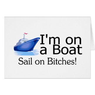 Im en un barco felicitacion