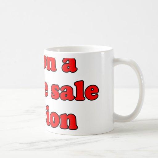 Im en una misión T de la venta de garaje Taza De Café