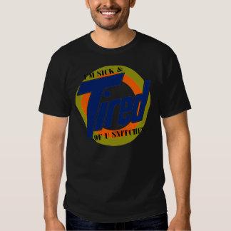 Im enfermo y cansado de espías de U -- Camiseta Poleras