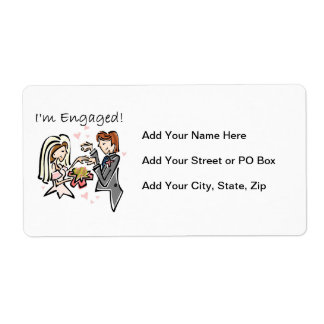 I'm Engaged Label