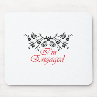 IM ENGAGED MOUSE PAD
