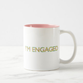 I'm Engaged Coffee Mug