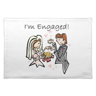I'm Engaged Placemats
