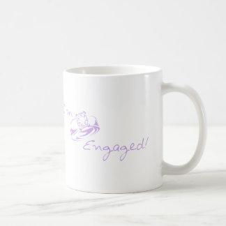 I'm Engaged (Purple Diamond Ring) Mug