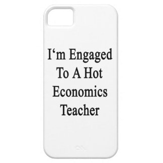 I'm Engaged To A Hot Economics Teacher iPhone 5 Cases